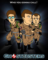 Boys in Grey...Ghostbusters by sonicblaster59