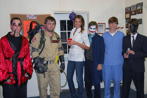 Ghostbusters Halloween Party by sonicblaster59
