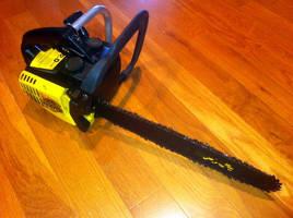 DOOM chainsaw by sonicblaster59