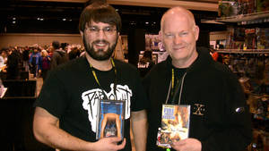 Lexington Toy Con me and glenn morshower! by sonicblaster59