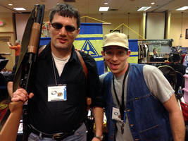 Bluegrass Cosplay Con Me and Billy Crank by sonicblaster59