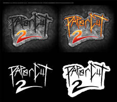 PAPERCUT 2 (2013) Movie Logo by Bryan Sanders by sonicblaster59