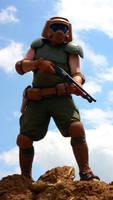 Doom Space Marine w/ Shotgun by sonicblaster59