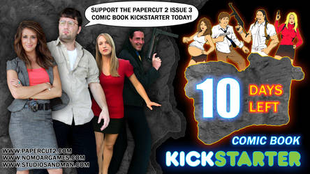 Less then 10 days remain on KICKSTARTER! by sonicblaster59