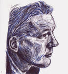 Pen Sketching faces by xMosx