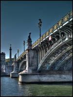Old bridge by BenoitJWild