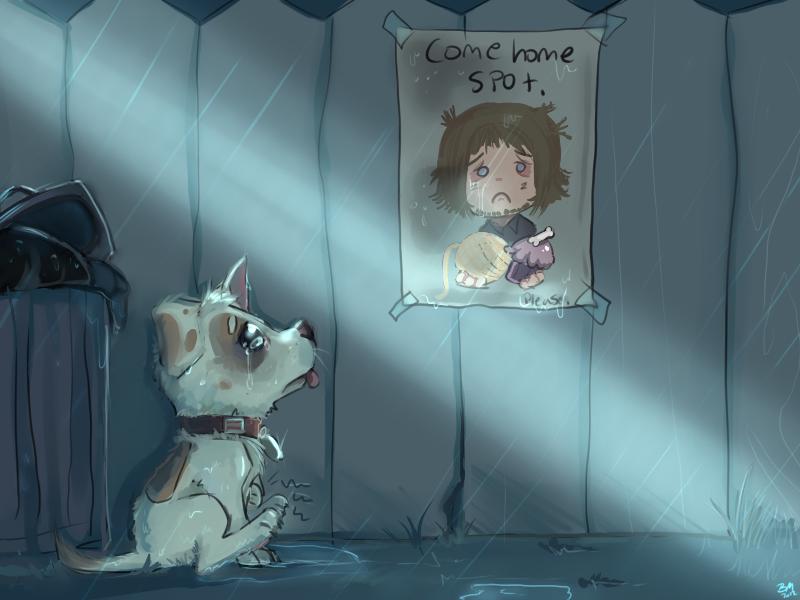 Lost Owner by TheAngelKitten