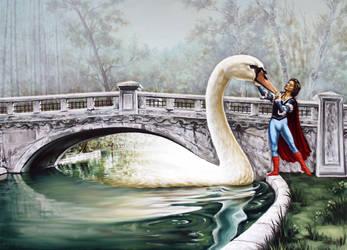 Swans Lake by Mihai82000