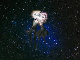 .:galaxy n love:. by CosmicPonye
