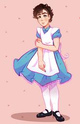 Alice genderbend by CosmicPonye