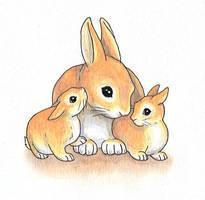 Rabbit Mother by Joceweir
