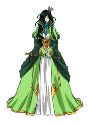 Queen Violetta by zloi-bules13