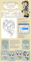 Tutorial: photoshop coloring by Lumaga