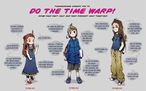 Time warp meme by Lumaga