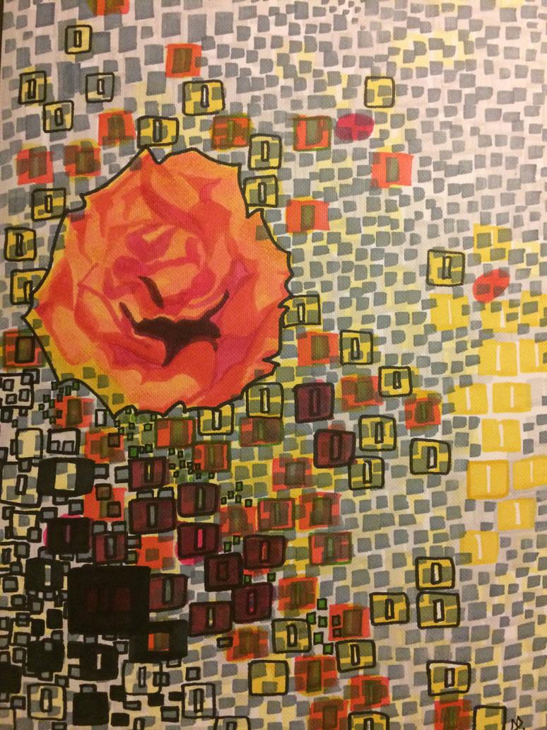 Rose by antjan