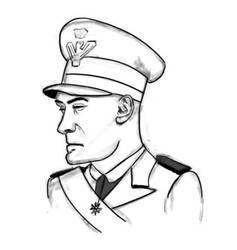 stylized general by Ahmad-Abn-A-Waleed