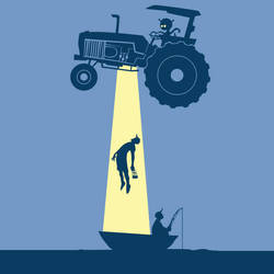 Tractor Beam by frogman354