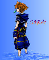 Sora by NikkiFirestarter
