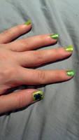 March Nails by NikkiFirestarter