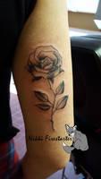 Sister Rose Tattoo by NikkiFirestarter
