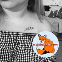 5 6 7 8 Tattoo by NikkiFirestarter