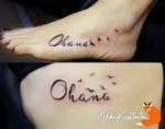 Ohana Tattoos by NikkiFirestarter