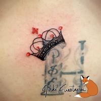 Crown Tattoo by NikkiFirestarter