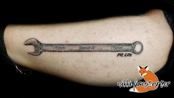 Send-It Tattoo by NikkiFirestarter
