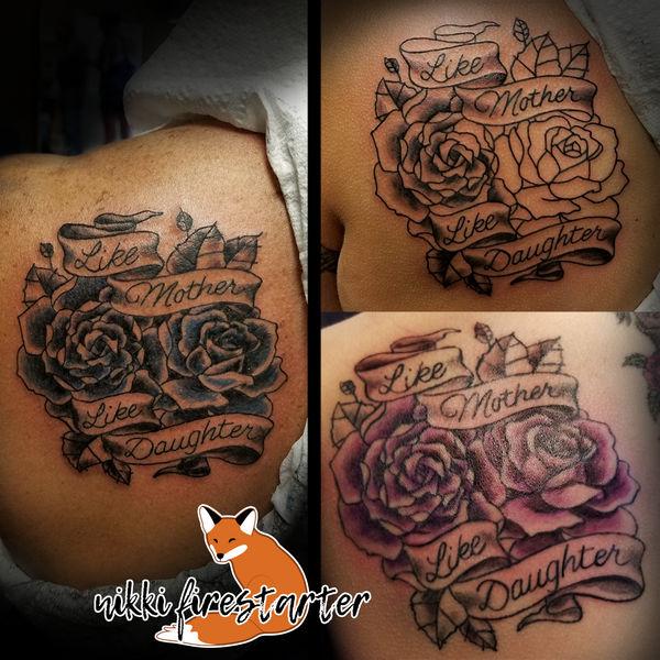 Like Mother, Like Daughter Tattoo by NikkiFirestarter