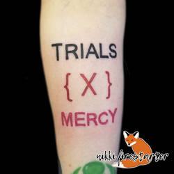 Trials X Mercy Tattoo by NikkiFirestarter
