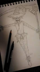 INK-05 Scarecrow by ninimation