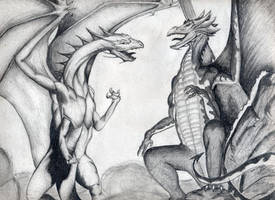 Dragons by bjjlenore