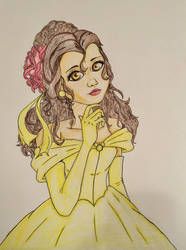 Belle WIP 3 by Diamond-Master