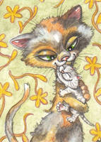 ACEO-A Mother's Love by KootiesMom