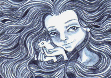 ACEO ~Defender Of The Small~ by KootiesMom