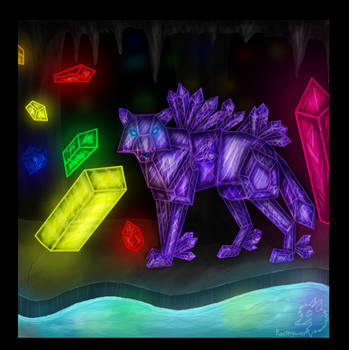 The Crystal Cavern by racingwolf