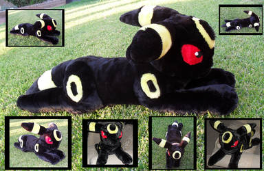 Huge Umbreon Plushie by racingwolf