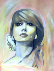Fairoz (the voice of angel) by Areej-Art
