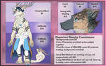 Commission Sheet (Currently OPEN) by Maystrine