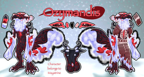 Ozymandis Reference by Maystrine