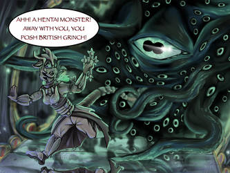 Hentai Mora (Skyrim Fan Art) by Maystrine