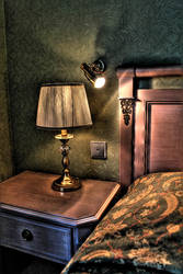 hotel bed hdr by amirajuli