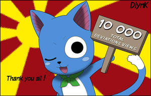Fairy Tail - Special 10,000 - Happy by DlynK
