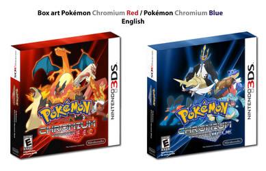 BoxArt - Pokemon Chromium Red Blue - English by DlynK