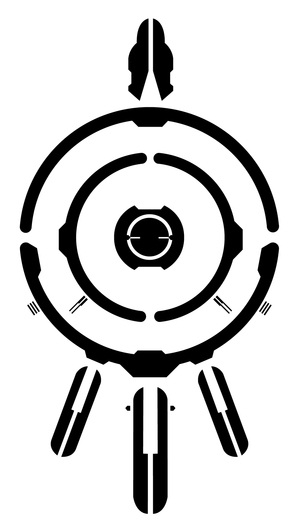Code Lyoko Evolution - Giant XANA Sign by DlynK