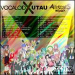 VOCALOIDxUTAU AllStars Megamix Cover (back) by DlynK
