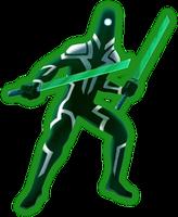 Render - Code Lyoko Evolution Ninja by DlynK