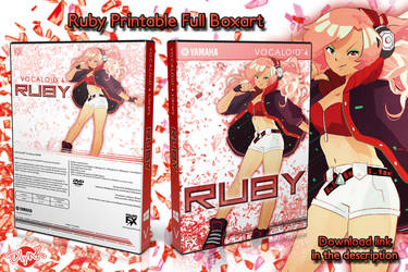 Boxart - Printable RUBY DVD home-made Boxart by DlynK