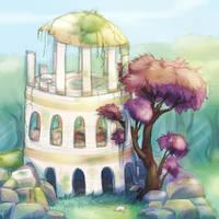 Sunken Sanctuary by RenonsPrints