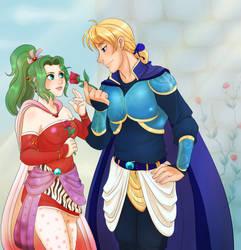 Desert Roses - Terra and Edgar by RenonsPrints